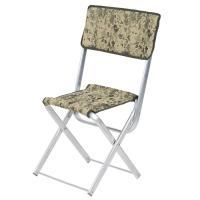 """Алюминиевый складной стул Vitan """"Рыбак со спинкой"""" 2110039 (песочный камуфляж)"""