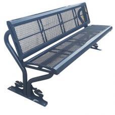 Металлическая садовая скамейка Rud 700059