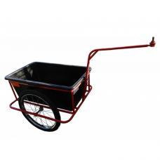 Тележка велосипедная с контейнером 95 л. Фаркоп