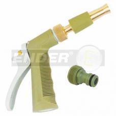 Пистолет садовый поливочный с латунным распылителем Ender 1614013