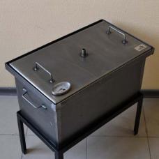 Коптильня 2-ярусная 520х300х280 с термометром Smoke House 5328Т