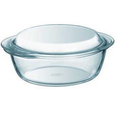 Кастрюля стеклянная круглая 23 см., 1,6 л. Pyrex Essentials 204A000