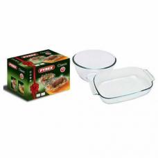 Набор жаропрочной стеклянной посуды Pyrex 912S211
