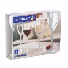 Набор бокалов для вина Luminarc Authentic 3 x 310 мл. H5650