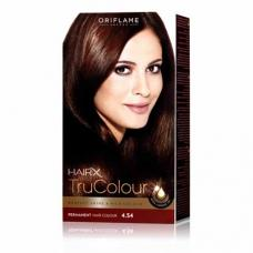 "Краска для волос Oriflame ""Цвет-Эксперт"" 25425 медно-каштановый махагон"