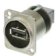 Панельный разъём USB 2.0 Neutrik NAUSB-W