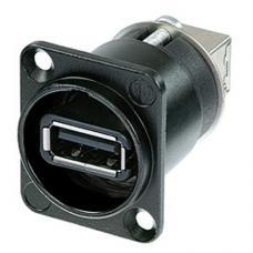 Панельный разъём USB 2.0 Neutrik NAUSB-W-B