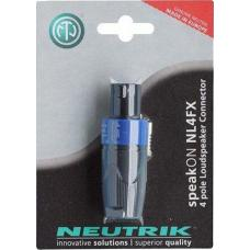 4-полюсный разъем speakON Neutrik NL4FX-POS