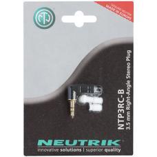 Разъем угловой стерео джек мини Neutrik NTP3RC-B-POS