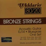 Струны для акустической гитары D'Addario EJ14