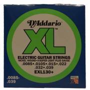 Струны для электрогитары D'Addario EXL130+