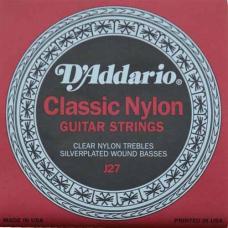 Нейлоновые струны для классической гитары D'Addario J27