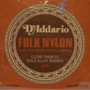 Нейлоновые струны для классической гитары D'Addario J33