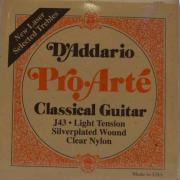 Нейлоновые струны для классической гитары D'Addario J43