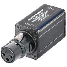 Одноканальный AES-EBU трансформатор Neutrik NADITBNC-FX