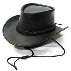 Кожаная ковбойская шляпа Manufatto Стетсон
