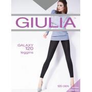 Леггинсы из микрофибры с эффектом блеска Giulia GALAXY 120 leggings 3D