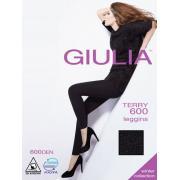 Теплые махровые леггинсы Giulia Terry 600 Leggings