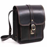 Кожаная сумка-планшет ручной работы Manufatto СПБ-3