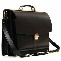Кожаный портфель ручной работы Manufatto ПАВ-20