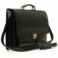 Кожаный портфель ручной работы Manufatto ПАВ-25