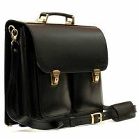 Кожаный портфель ручной работы Manufatto ПДВ-2