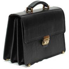 Кожаный малый портфель ручной работы Manufatto ПМ-2