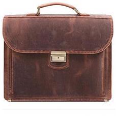 Кожаный портфель ручной работы Manufatto РВМ-1 Crazy Horse
