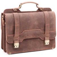 Кожаный портфель ручной работы Manufatto СПС-3 Crazy Horse
