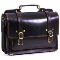 Кожаный портфель ручной работы Manufatto СПС-4