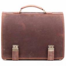 Кожаный портфель ручной работы Manufatto ТМ-1 Crazy Horse