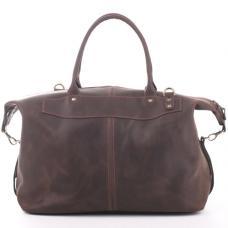 Кожаная дорожная сумка-саквояж Manufatto №3 Crazy Horse коричневая
