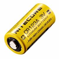 Батарейка литиевая Li-Ion 16340 Nitecore CR123A