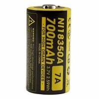 Аккумулятор литиевый Li-Ion IMR 18350 Nitecore NI18350A