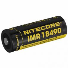 Аккумулятор литиевый Li-Ion IMR 18490 Nitecore NI18490A