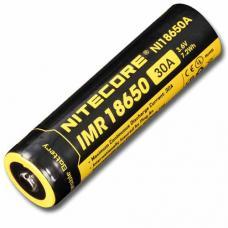 Аккумулятор литиевый Li-Ion IMR 18650 Nitecore NI18650A