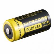 Аккумулятор литиевый Li-Ion CR123A защищенный 3.7V 650mAh Nitecore NL166