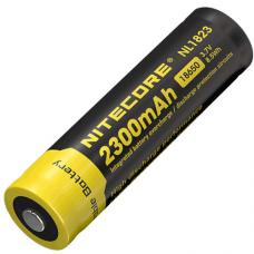 Аккумулятор литиевый Li-Ion защищенный 18650 3.7V 2300 mAh Nitecore NL1823
