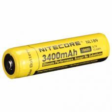 Аккумулятор литиевый Li-Ion защищенный 18650 3.7V 3400 mAh Nitecore NL189