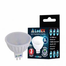 Светодиодная лампа с рефлектором LedEX 3W MR16 GU5.3 Premium