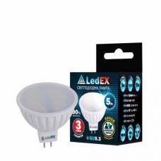 Светодиодная лампа с рефлектором LedEX 5W MR16 GU5.3 Premium