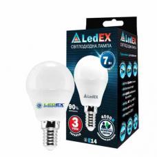 Светодиодная лампа LedEX 7W E14 Premium (Шарик)