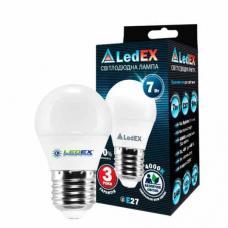 Светодиодная лампа LedEX 7W E27 Premium (Шарик)
