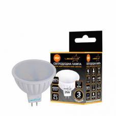 Светодиодная лампа с рефлектором LEDSTAR 3W MR16 GU5.3 Standard