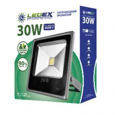 Светодиодный прожектор LedEX TL11711 30W COB Standart Slim