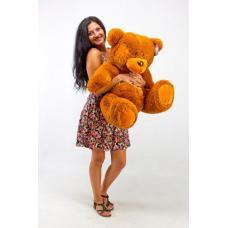 """Плюшевый медведь TeddyBoom """"Гриша"""" 100 см. коричневый"""