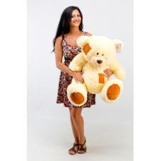 """Плюшевый медведь TeddyBoom """"Гриша"""" 100 см. кремовый"""