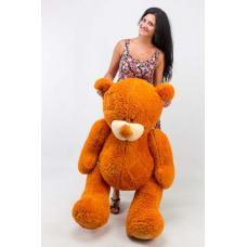 """Плюшевый медведь TeddyBoom """"Гриша"""" 140 см. карамельный"""