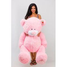 """Плюшевый медведь TeddyBoom """"Гриша"""" 140 см. розовый"""