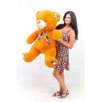 """Плюшевый медведь TeddyBoom """"Веня"""" 130 см. карамельный"""